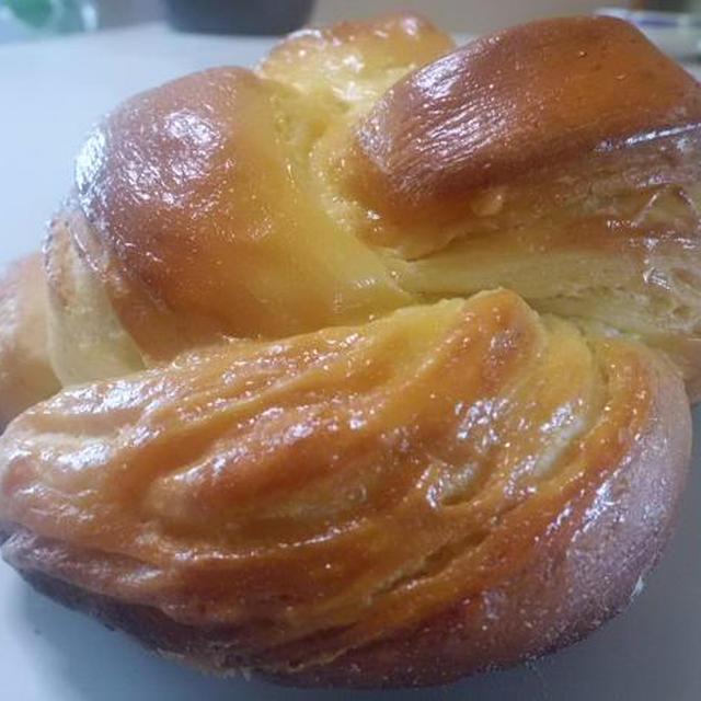 今日のレシピ&バターシートでデニッシュ食パン♪