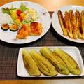 2日まとめ記事焼肉ランチと白身魚のパン粉焼き☆コロコロサラダ♪☆♪☆♪