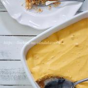 混ぜて冷やすだけ*かぼちゃのスコップチーズケーキ