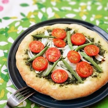 手づくりピザをインスタLIVEレッスンで作りませんか?