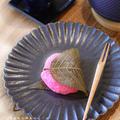 道明寺粉の桜餅
