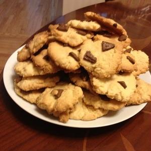 型抜き不要!簡単「アメリカンクッキー」の作り方