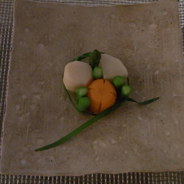 根菜の割烹含め煮  ヤマキさんの「割烹白だし」で