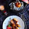 土鍋でじゅんわりあまい シナモン餡りんご