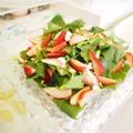 イチゴとルッコラのサラダ♪雛祭りのパーティーメニュー by manaママさん