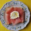ブッラータチーズと生ハムの贅沢トースト