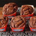 とろける板チョコが美味しい♡HMで簡単♪チョコレートマフィン