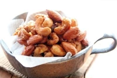 醤油クリーム仕立てのキャラメルナッツ風