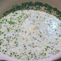 ブロッコリーとカシューナッツのスープ