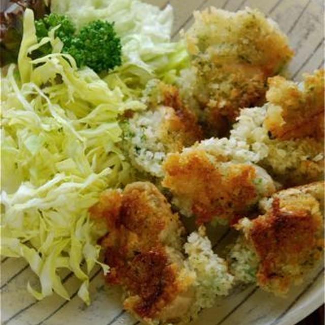 おつゆ麩の牡蠣フライ風