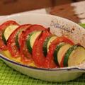 熊本県の形/【recipe】ズッキーニとトマトのグリル
