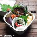 ポークソテー(柿、ワイン、醤油マリネ)~パパのお弁当 by YUKImamaさん
