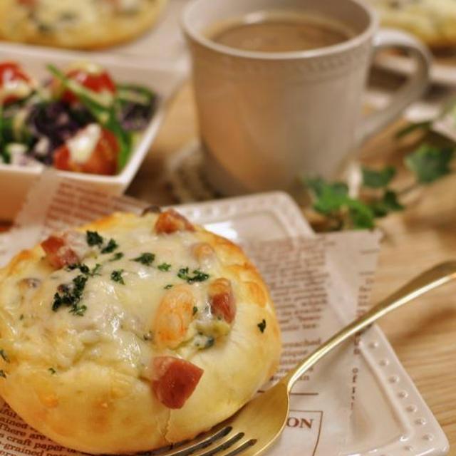 トロ~~~りチーズのグラタンパン♪