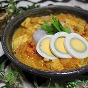 鶏胸肉で作るインド風チキンカレー