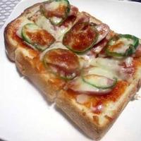 ブランチに♪ピザトーストはいかが? & 大好きなお花