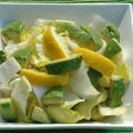 チコリとアボカドのサラダ