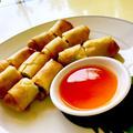 recipe>>ポピアトード(タイの春巻き)と春巻き