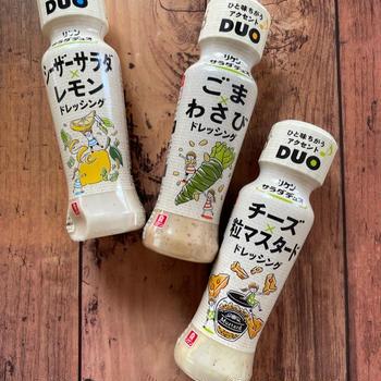 理研ビタミン リケンサラダデュオでひと味違うアクセント!