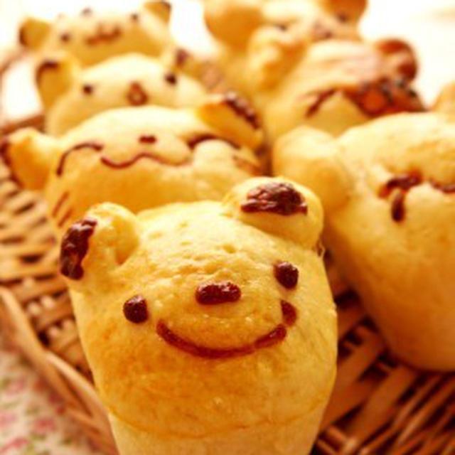 お楽しみ動物パン♪ ~整列バージョン(笑) *レシピ*
