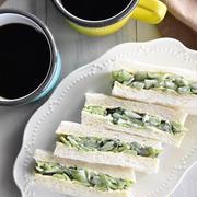こりゃはまるわ!「きゅうりだけサンド」~Cucumber sandwich~