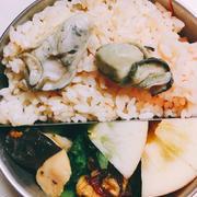 宮城牡蠣とトマトの炊き込みご飯弁当
