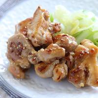 鶏もも肉の粒マスタード照り焼き【食材一つでおかずシリーズ】【PR】