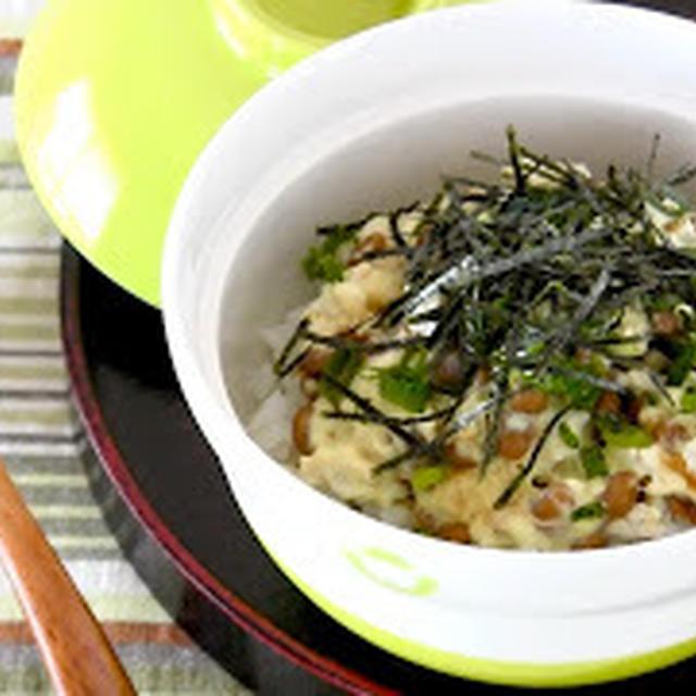 ネバネバわさマヨ鶏そぼろ丼 (動画レシピ)