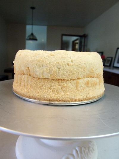 一つのケーキで2種類のケーキを作る/ 長い夜