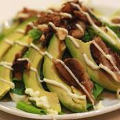 オイルサーディンとアボカドのサラダ