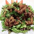 ジンギスカンのから揚げサラダ
