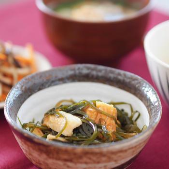 【レシピ・副菜】細切り昆布と竹輪の炒め物。新しい挑戦。
