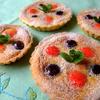 苺とブルーベリーのスパイスクラフティタルト