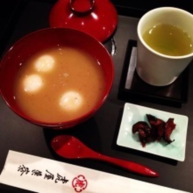 栗のお汁粉レシピ ~ ペニンシュラ香港・スプリングムーンの味♡
