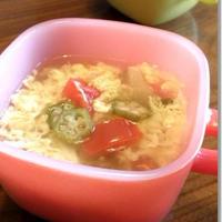□■ さっぱり♪お酢入り★オクラとトマトのスープ ■□