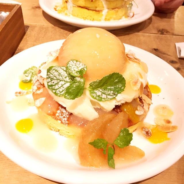 恵比寿でパンケーキといえばカフェ アクイーユ