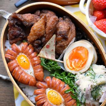♡小袋調味料を使ったレシピdeお弁当♡レシピ3品♡