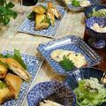 ◆筍で変わり春巻きのおうちごはん♪~ゆるやか糖質制限中♪