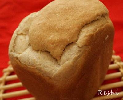 米粉ライ麦パンを米粉コースのないホームベーカリーで焼くレシピ