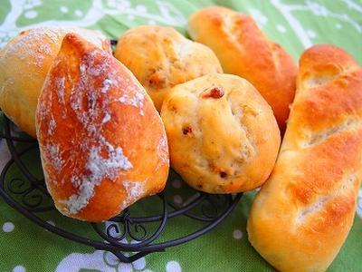 リスドオルで3種のパン