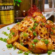 【レシピ】揚げずに簡単♬甘酢鶏れんこん♬