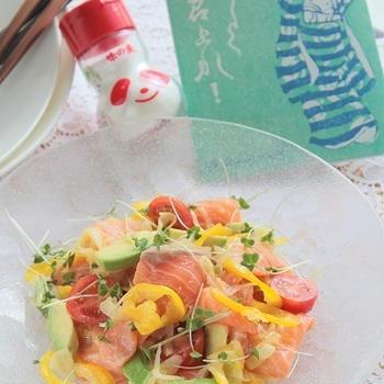 味の素で旨ダレ!!夏のサーモンレシピと鶏むねチキンレシピ