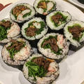 恵方巻き ブルコギ巻き寿司 by ドルフの美味しい家庭料理さん