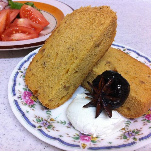 イタリアンな食パンで朝ごパン
