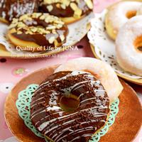 【夏休みのおやつに】ママが作るシリーズ☆ふんわりやさしい基本のイーストドーナツ