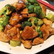 鶏肉とブロッコリーの旨炒め