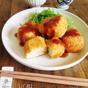 ♡バッター液de超簡単♡豆腐チーズカツ♡【簡単*時短*節約*フライ*おもてなし*ヘルシー】