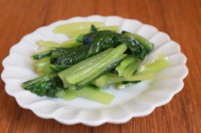 小皿つまみ*小松菜のナムル