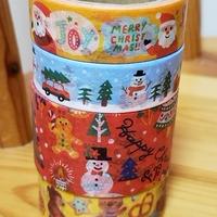 冬のマスキングテープ