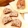 ホットケーキミックスを使い♪マロンペーストと甘栗のパウンドケーキ♡ by Lau Ainaさん