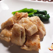 鶏肉のおかかチーズはさみ焼きの巻